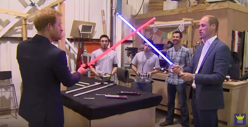 prince-william-and-prince-harry-have-a-lightsaber-duel